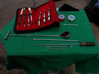 Tierarzt Praxis Dr. Volz - Zahnbehandlung Instrumente